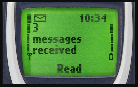 old nokia lcd display