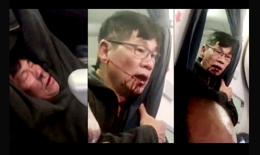 passenger dragged by united airline
