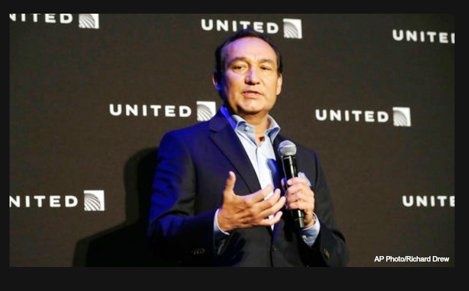 united airline ceo